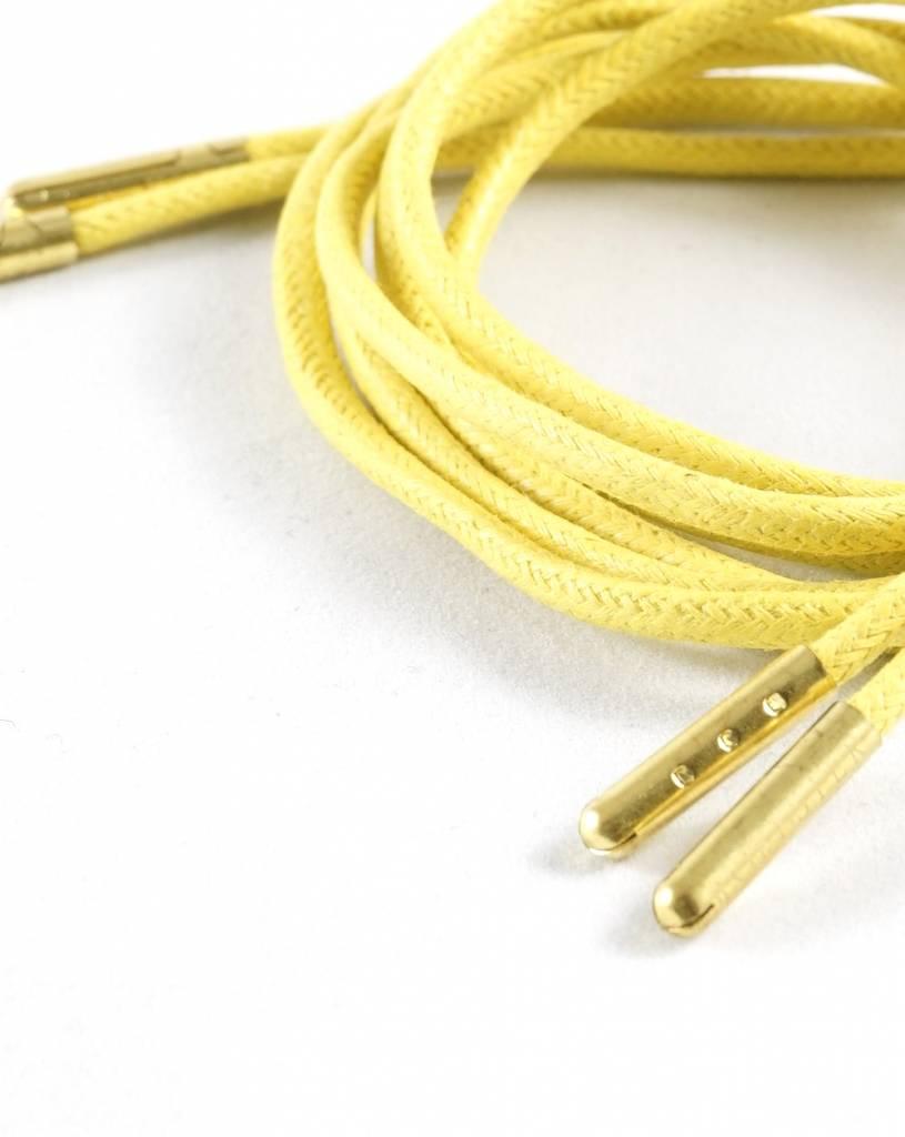 Toffster Gelbe gewachste Schnürsenkel