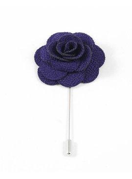 Toffster Boutonniere Violett Blume