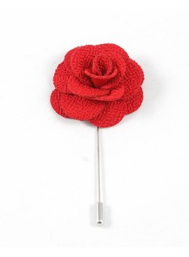 Toffster Boutonniere Rot Blume