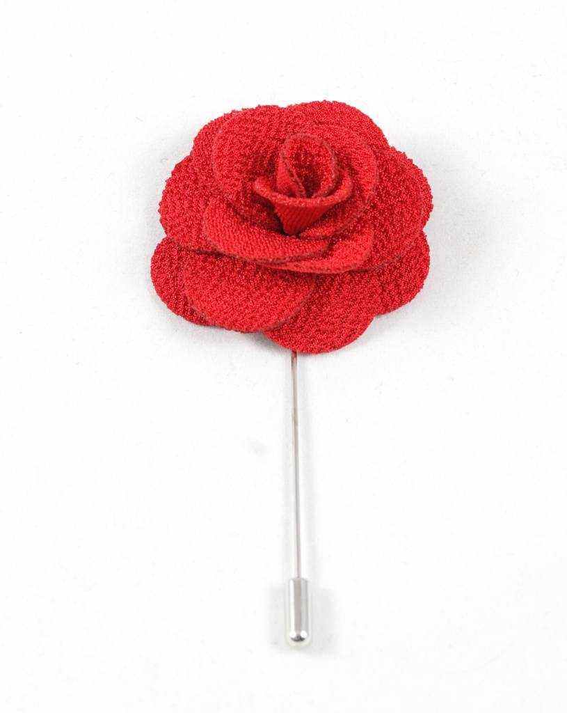 Toffster Boutonniere | Stoff | Rot