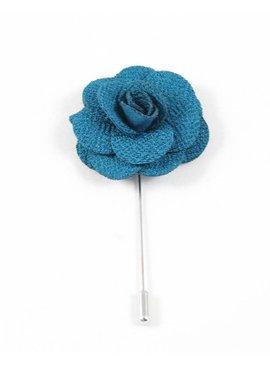 Toffster Boutonniere Türkis Blume