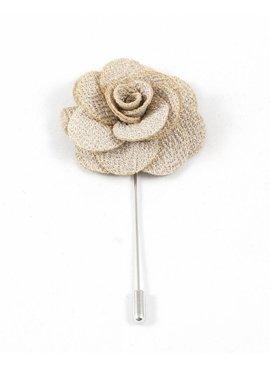 Toffster Boutonniere Beige Blume