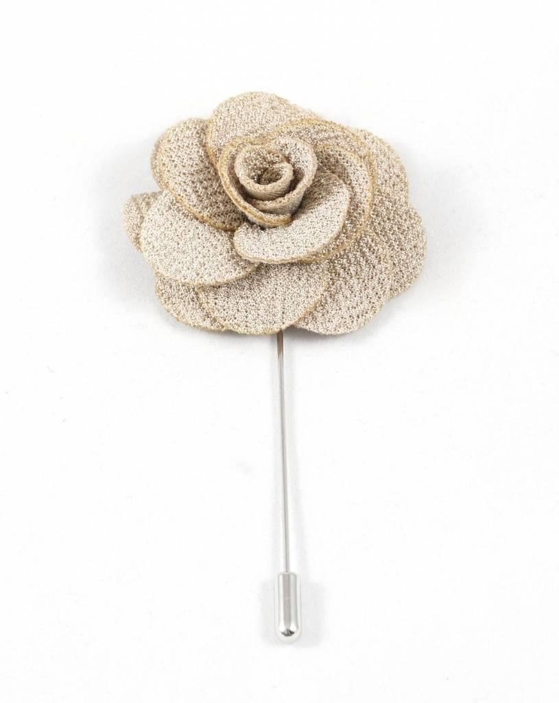 Toffster Boutonniere Beige Flower