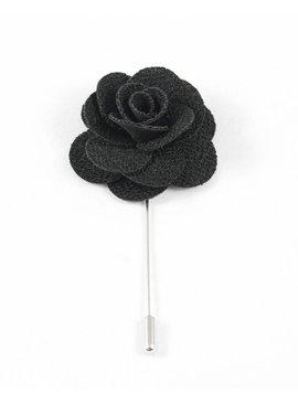 Toffster Boutonniere Schwarz Blume