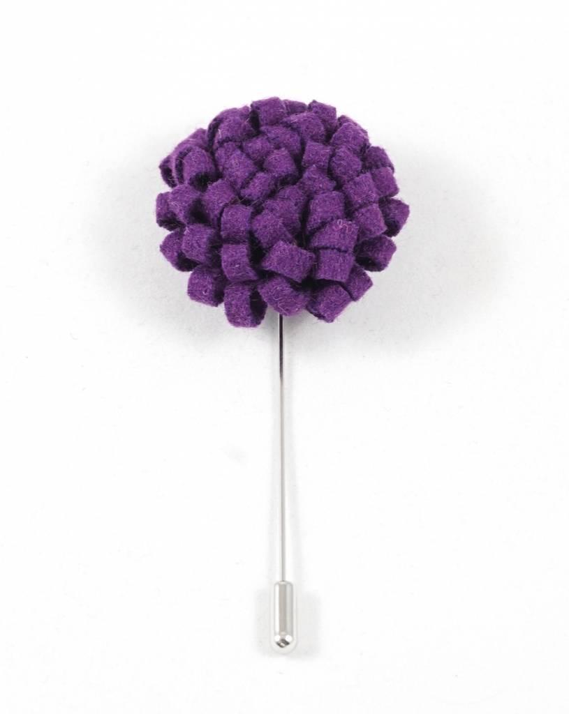 Toffster Boutonniere felt purple