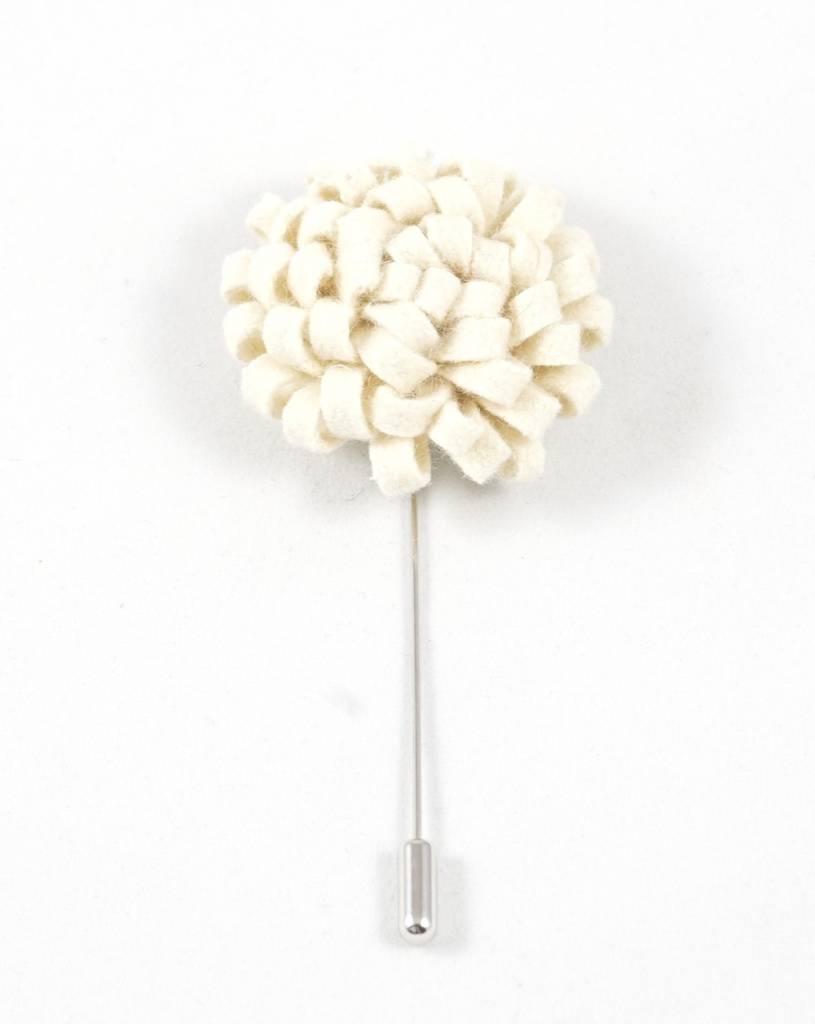 Toffster Boutonniere felt cream