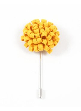 Toffster Boutonniere felt yellow