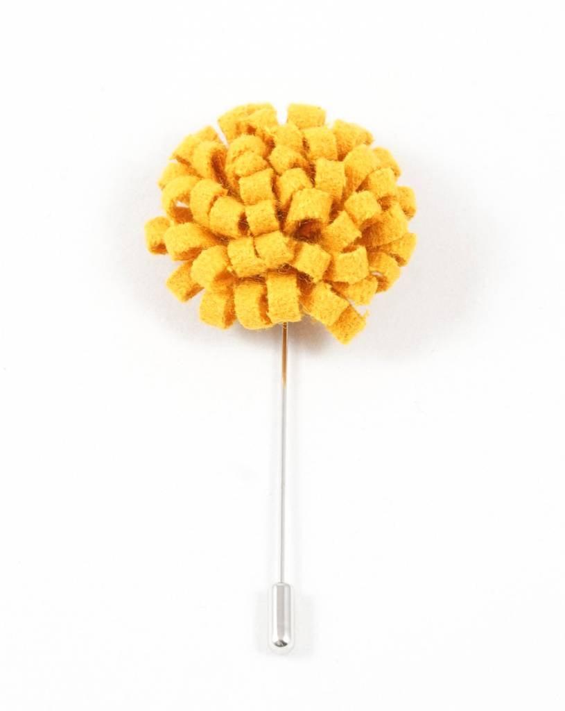 Toffster Boutonniere felt yellow