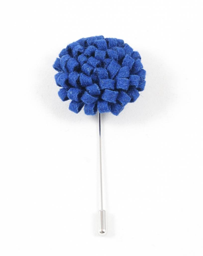 Toffster Boutonniere felt blue
