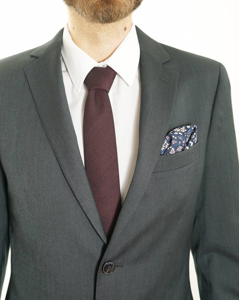 Toffster Krawatte und Einstecktuch im Set