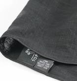Toffster Pocket Square linen black