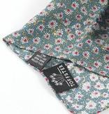 Set aus Krawatte mit Einstecktuch und Boutonniere