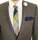 Toffster Tie   Linen   Checkered