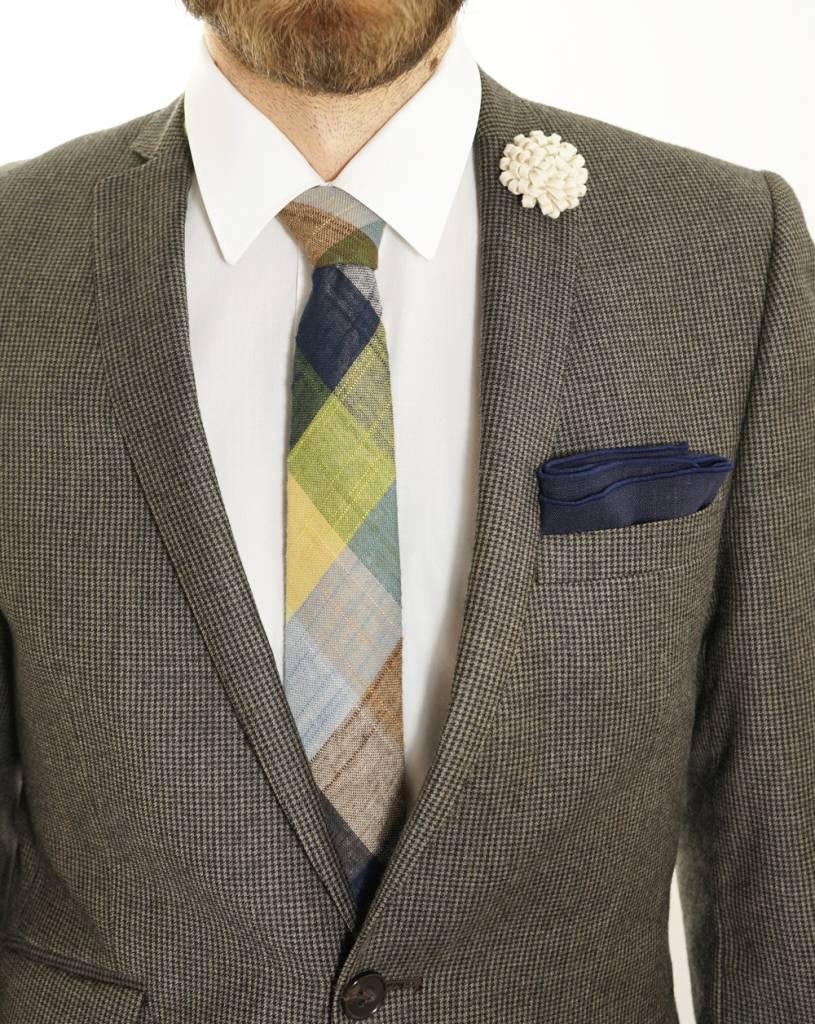 Toffster Tie | Linen | Checkered