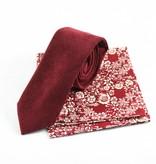 Toffster Krawatte und Einstecktuch im abgestimmten Set