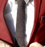 Toffster Cotton Flannel Tie Anthracite