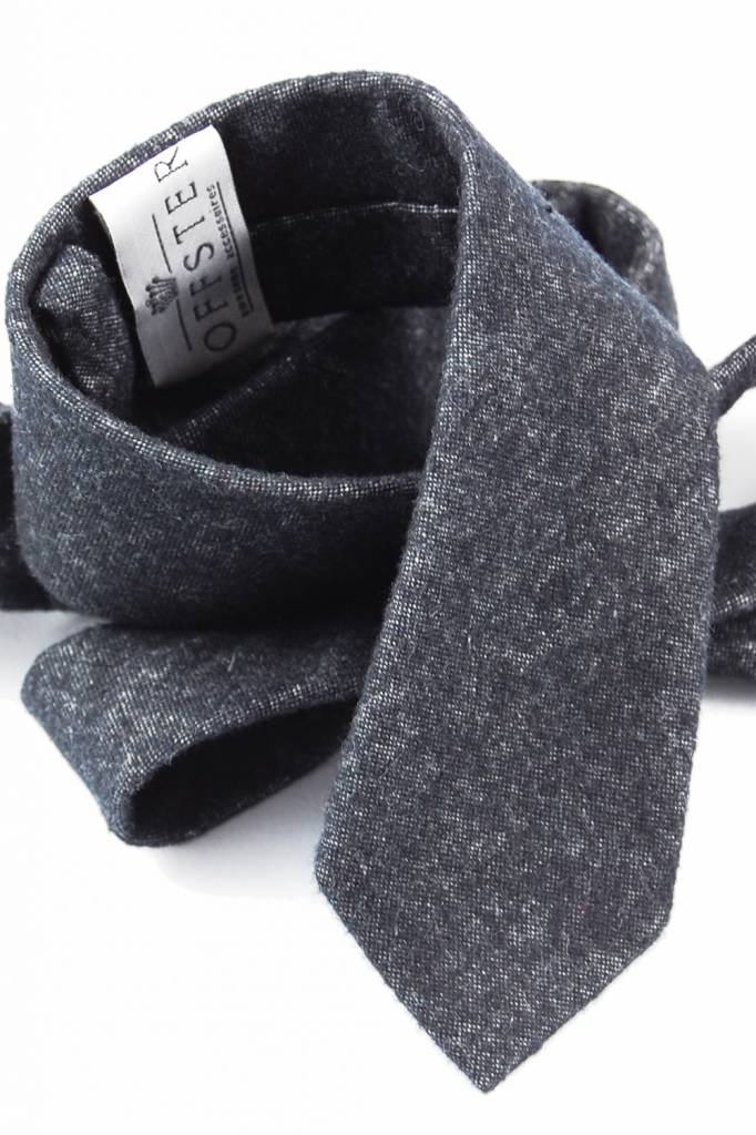 Toffster Krawatte Dunkelgrau