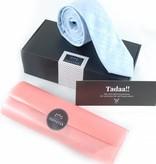 Toffster Krawatte | Leinen | Hellblau
