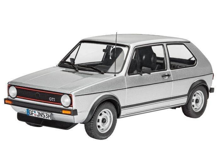 Revell REVELL MODÈLE RÉDUIT 1/24 PLASTIC VW GOLF I GTI