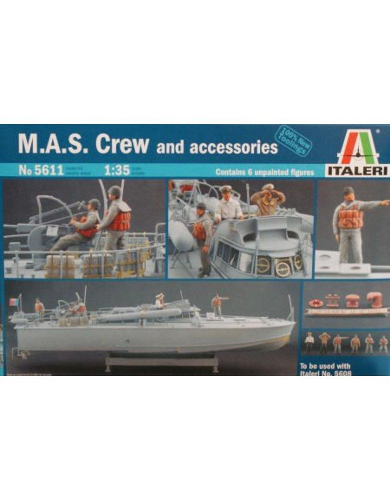 Italeri ITALERI M.A.S. CREW ET ACCESSOIRES 1/35