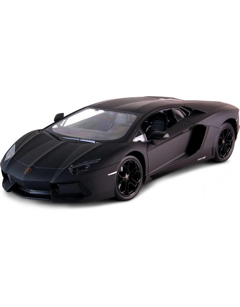 Siva Lamborghini Aventador LP 700-4 - schwarz