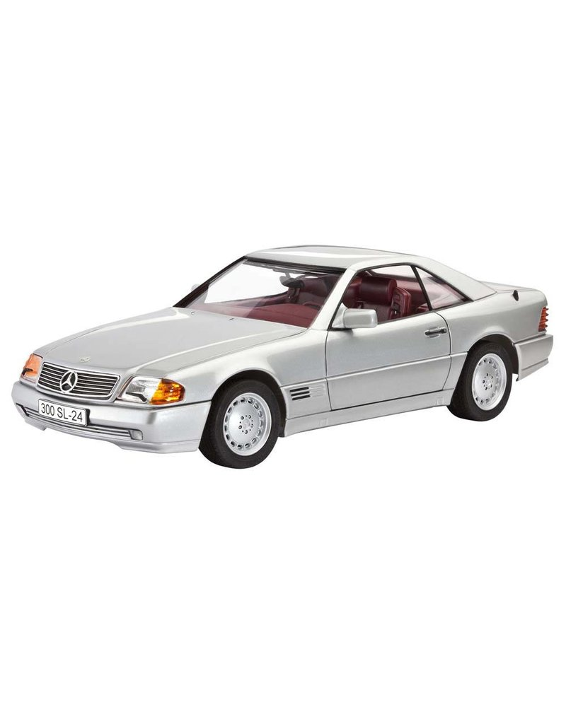 Revell SCALE MODEL PLASTIC REVELL 1/24 Mercedes-Benz 300 SL- 24 COUPE