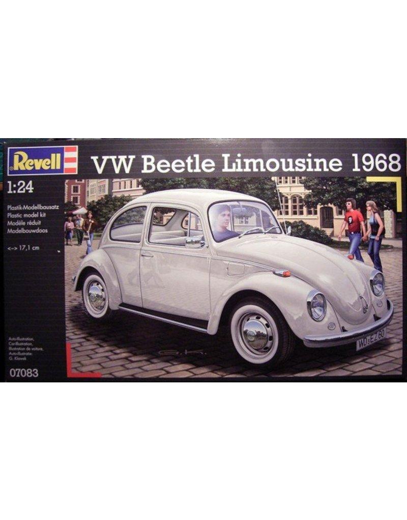 Revell REVELL MODÈLE RÉDUIT 1/24 PLASTIC VW BEETLE LIMOUSINE 1968
