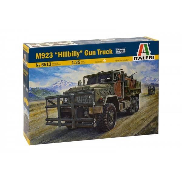 """Italeri ITALERI Militärfahrzeuge M923 """" HILLBILLY """" GUN TRUCK"""