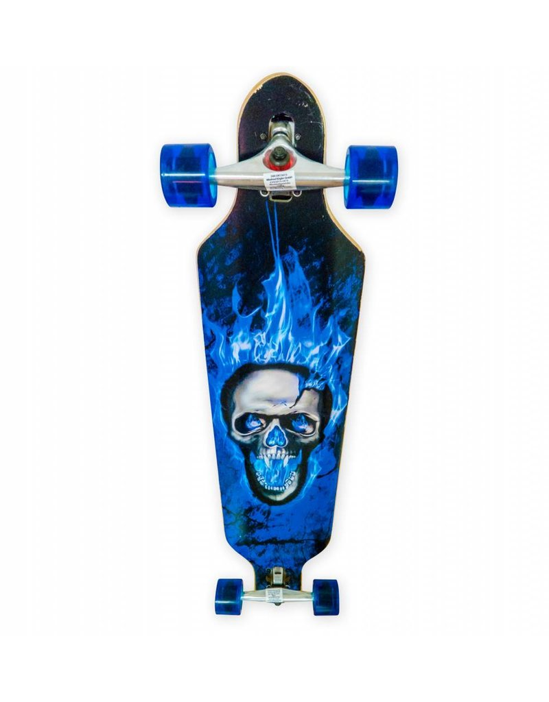 Longboard Skull Longboard Skull