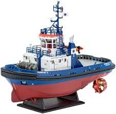 Revell REVELL HARBOUR TUG BOAT FAIRPLAY I,III,X 1/144