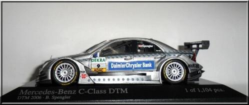 MiniChamps MiniChamps Mercedes-Benz C-Class DTM Spengler 2006 1/43