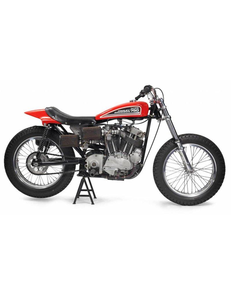 HARLEY-DAVIDSON XR750 Racing Bike 1972 1/18