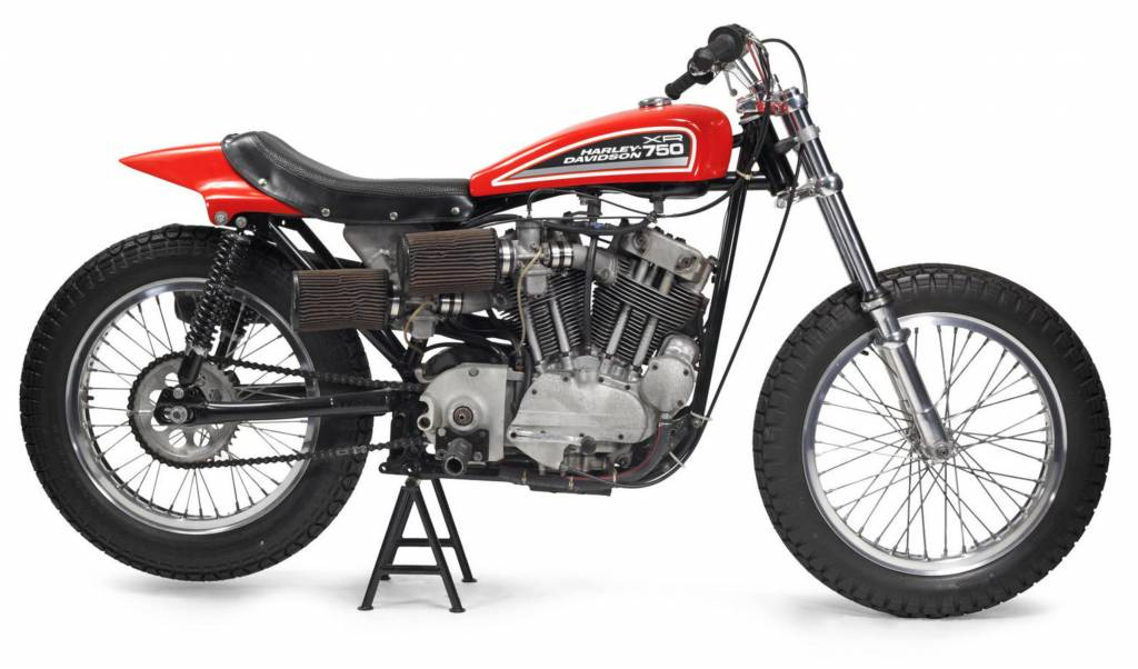 HARLEY-DAVIDSON XR750 Racing Bike 1972 1/18