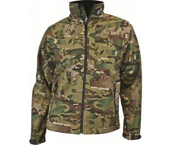 Highlander Odin - softshell jas - camouflage
