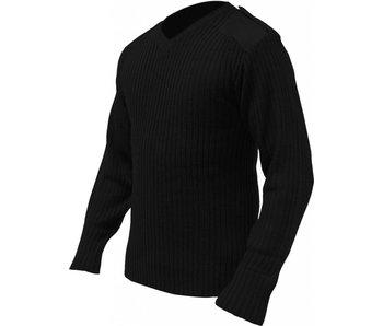 Highlander Commando trui - V-neck - zwart