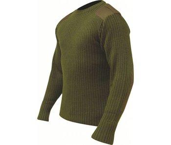 Highlander Commando trui - Olive groen
