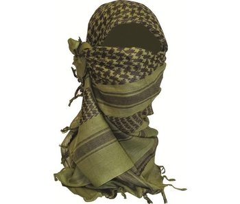 Highlander Shemagh Sjaal - 110 x 115 cm - Olive