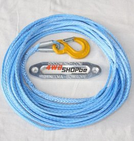 Goodwinch Bow rope 14mm x 46m (150') ready rigged with safety hook
