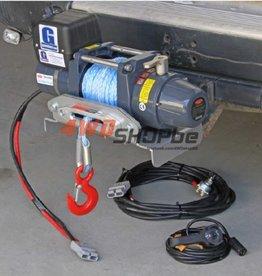 Goodwinch Portable TDS-8.5 (4ton) Short Drum bak-rak tow ball mounting kits
