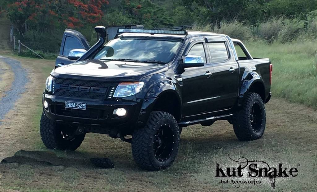 Kut Snake Quot Raptor Quot Look A Like Grille Ford Ranger Series 1