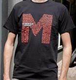 T-shirt Heren Zwart