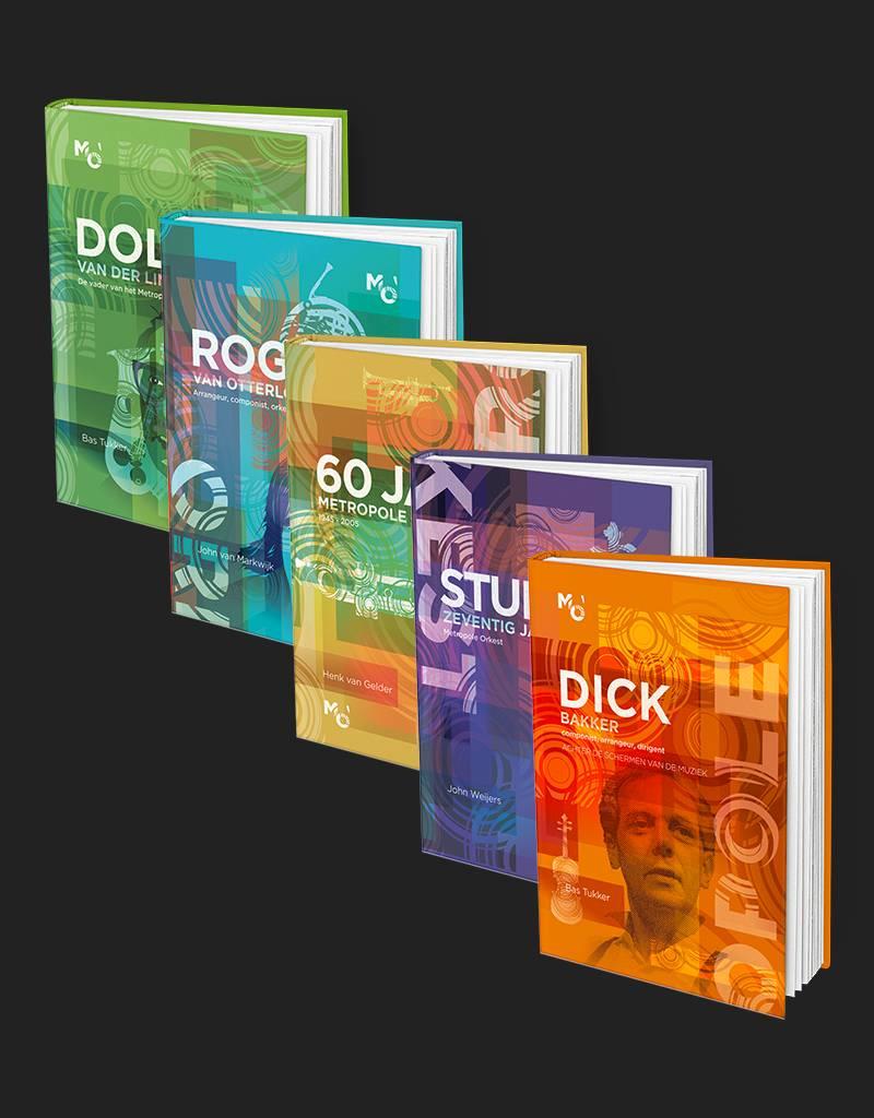 Metropole Boekenset (5 luxe boeken)