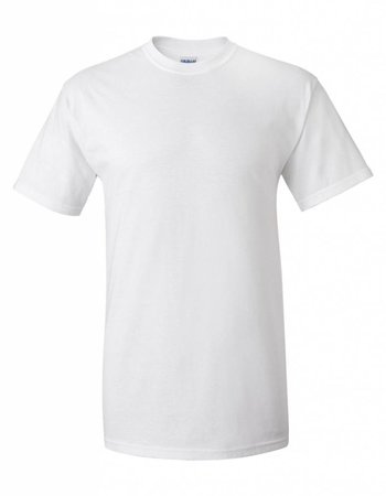 GILDAN Basic T-shirt wit