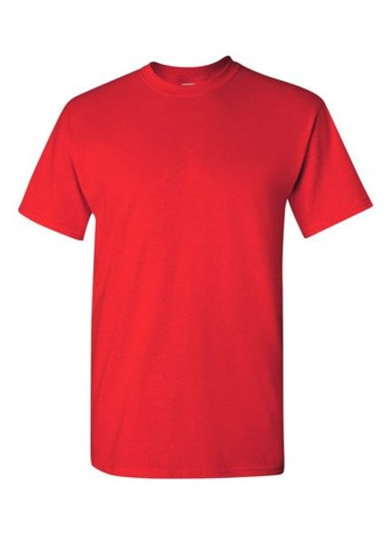 GILDAN Basic T-shirt red