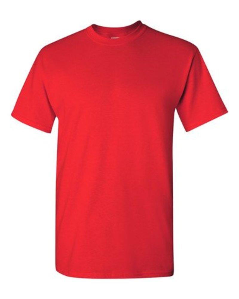 GILDAN Basic T-shirt red