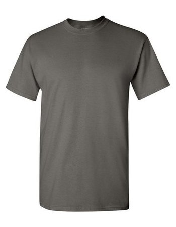 GILDAN Basic T-shirt Charcoal