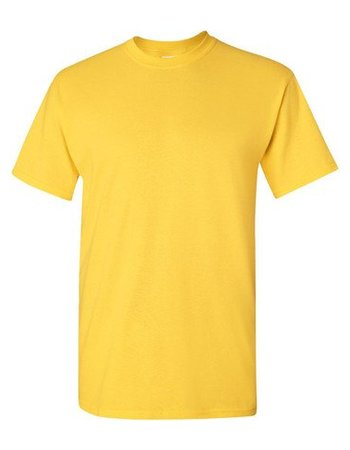 GILDAN Basic T-shirt yellow / daisy