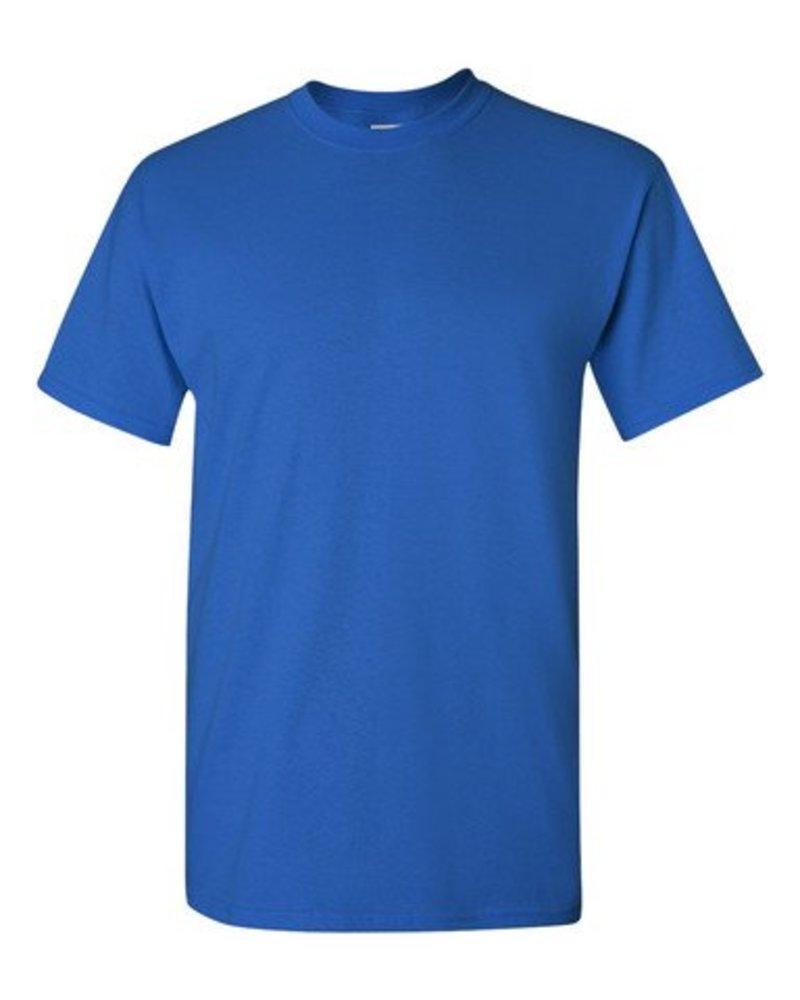 GILDAN Basic T-shirt royal blue