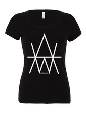 AW ANTWERP AW Original AW logo Lady T-shirt
