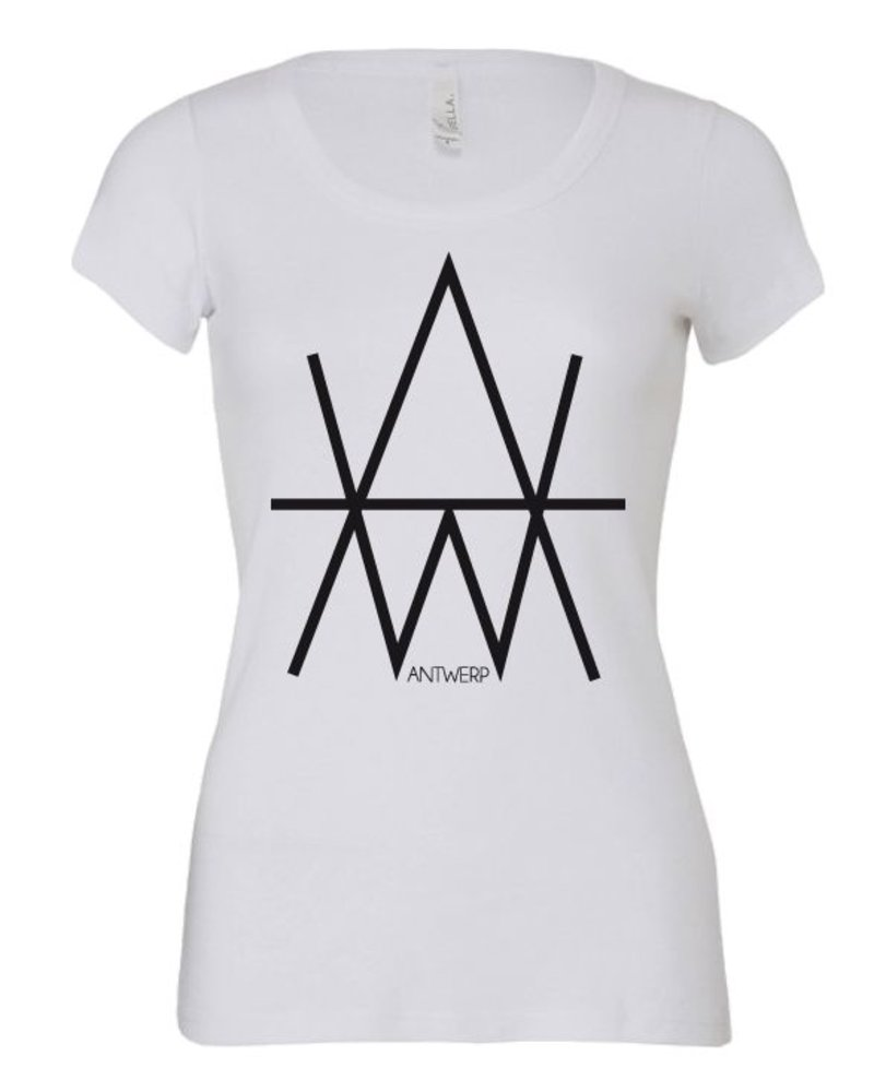 AW ANTWERP AW Original AW logo Lady T-shirt